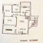 Piantina Piano Secondo